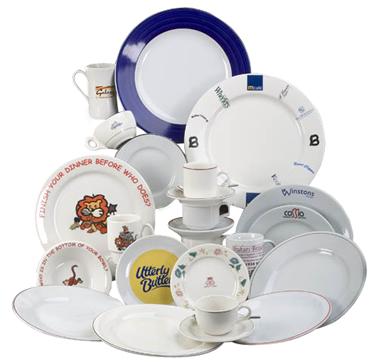 Bespoke Personalised Crockery Branded Tableware